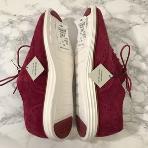 Cole Haan Shoes - Cole Haan Burgundy Lace Up Shoes Size 6